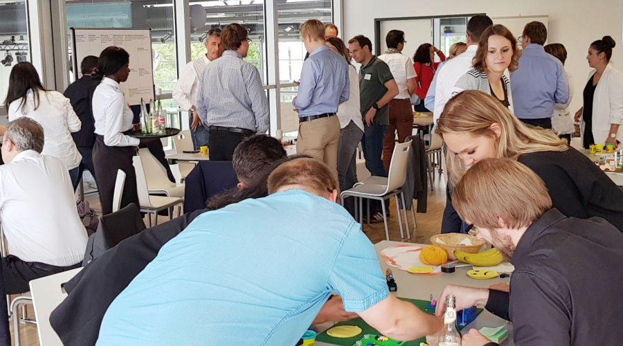 Michael Wolan moderiert Rapid Business Design Workshops mit 70 Teilnehmern